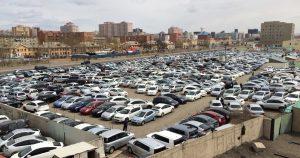 中古車輸出の状況