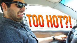 Too hot in the car